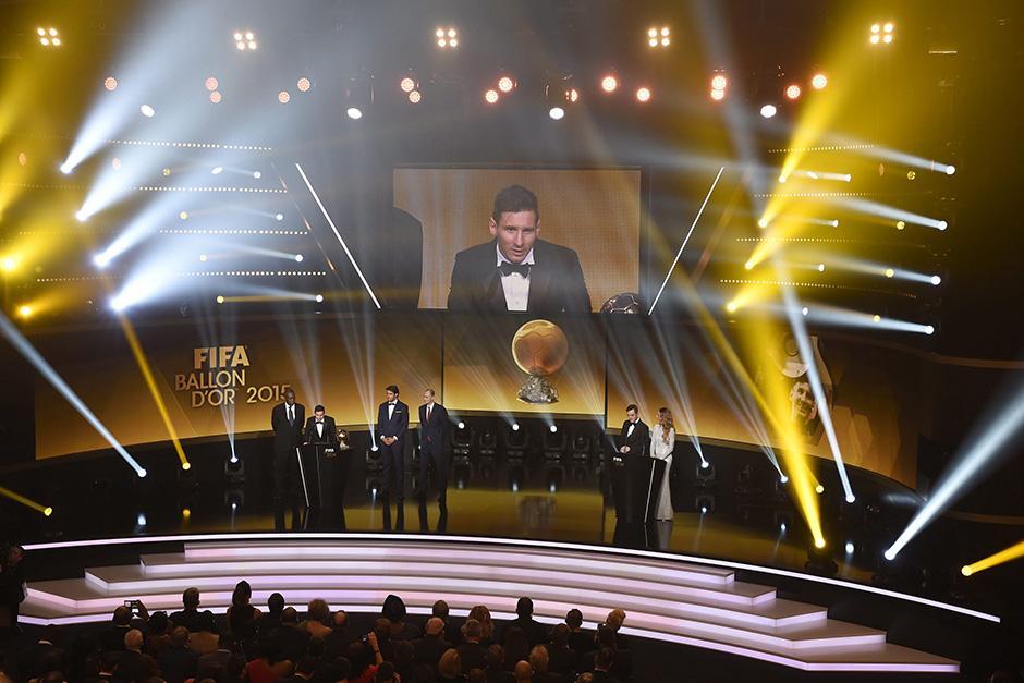 Este fue el escenario donde se llevó a cabo la gala del Balón de Oro 2015.(Foto: EFE)