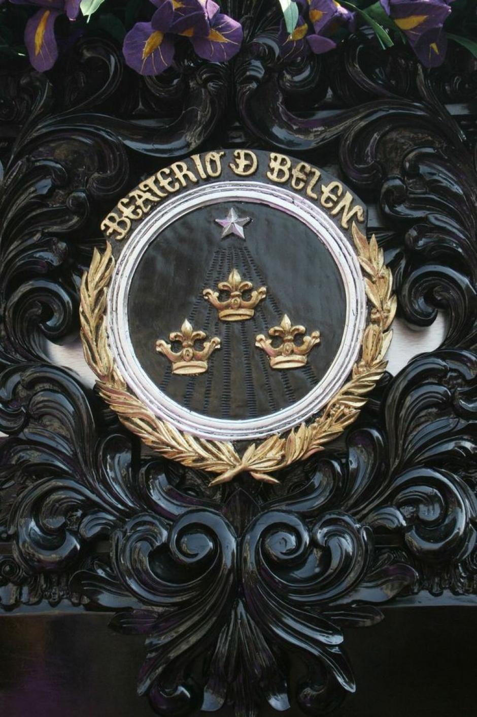 El escudo del Beaterio de Belén. (Foto: Raúll Illescas).