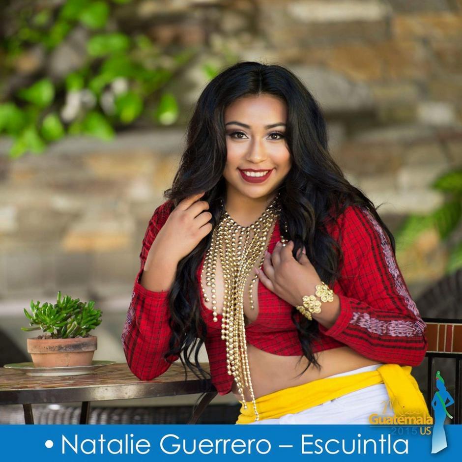Natalie Guerrero representa a Escuintla. (Foto: Miss Guatemala US)