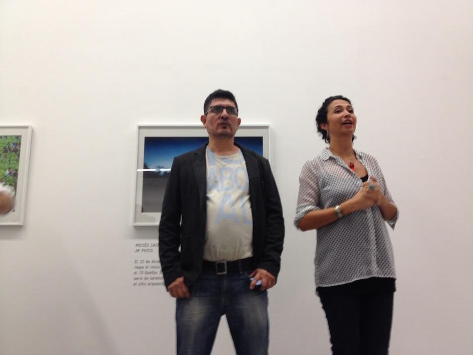 El pasado viernes se inauguró esta exposición. (Foto: Moisés Castillo)
