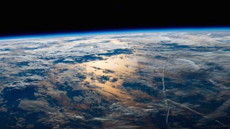 Esta es una mirada del océano Atlántico. (Foto: Jeff Williams/NASA)