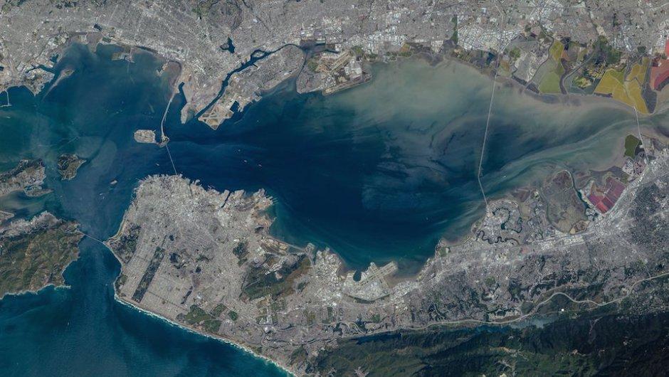 Esta es la ciudad de San Francisco. (Foto: Jeff Williams/NASA)