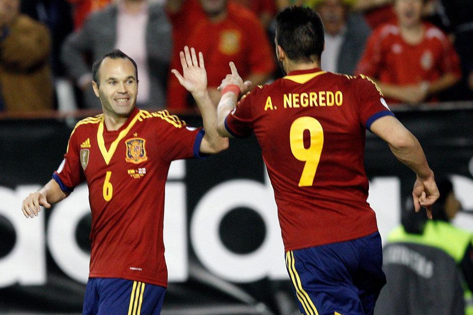"""Iniesta ha sido por muchos años el """"motor"""" de la Selección de España. (Foto: EFE)"""