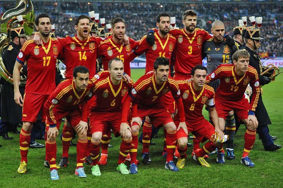 La selección española es la actual campeona de la Copa del Mundo, tras conseguir la corona en Sudáfrica 2010