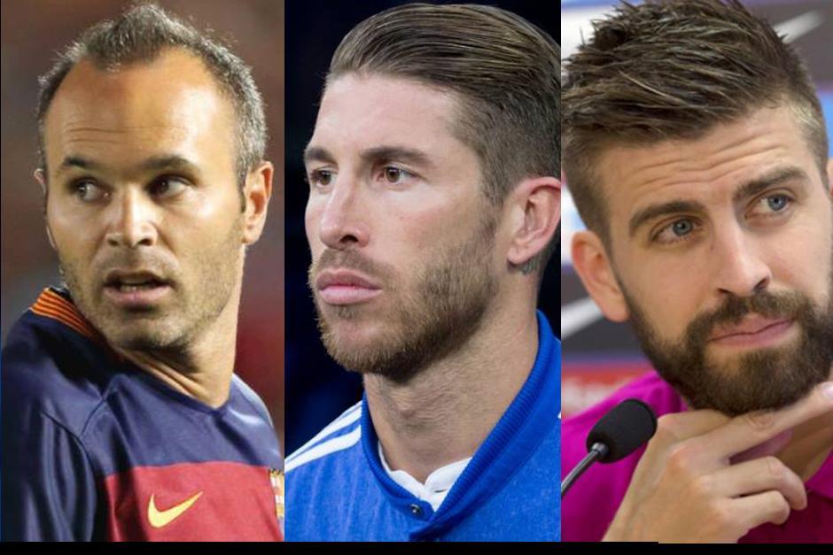 Tres jugadores clave para el clásico...y los tres lesionados. (Fotos: Sport, As)