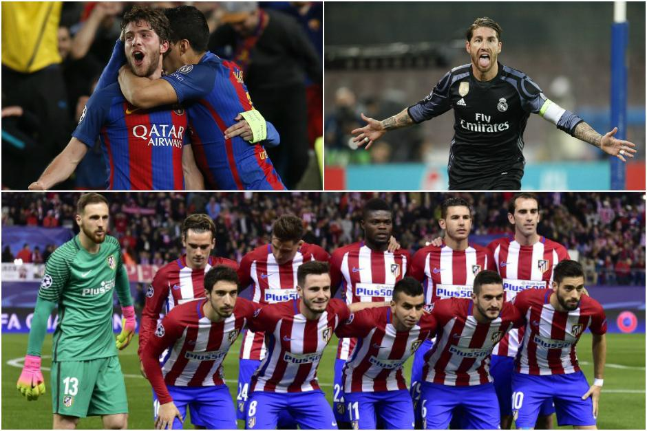 Los equipos españoles tendrán un abril complicado en La Liga y la Champions. (Foto: AFP)