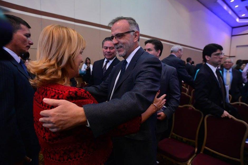 Iván Velásquez, jefe de la CICIG, en el Foro Esquipulas que reúne a expresidentes de la región. (Foto: Wilder López/Soy502)