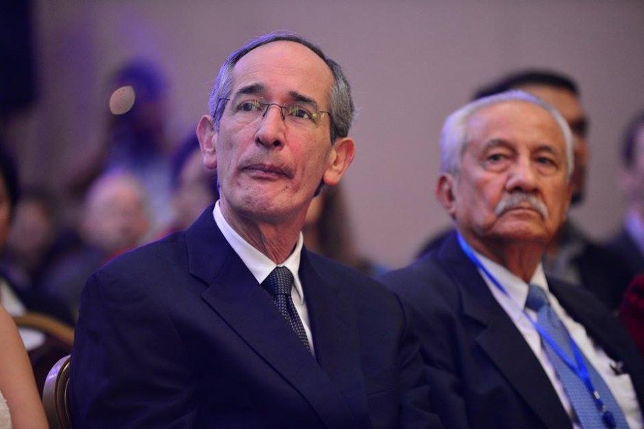 El expresidente Álvaro Colom es uno de los invitados en el Foro Esquipulas de 2015. (Foto: Wilder López/Soy502)