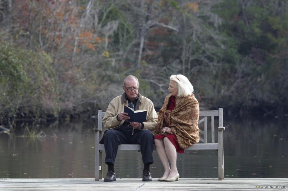 En la película, Noah cuenta su historia a su esposa Ellie, quien padece demencia senil. (Foto: taringa.net)
