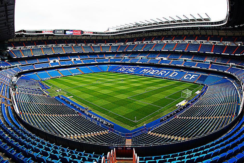 Santiago Bernabeu, Real Madrid, Intel Microsoft
