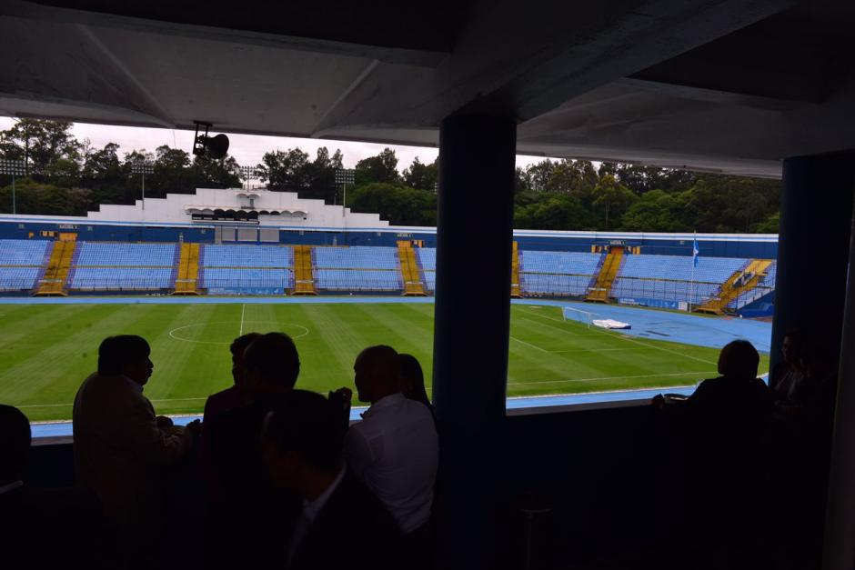 El estadio Mateo Flores ahora se llama Doroteo Guamuch Flores. (Foto: Jesús Alfonso/Soy502)