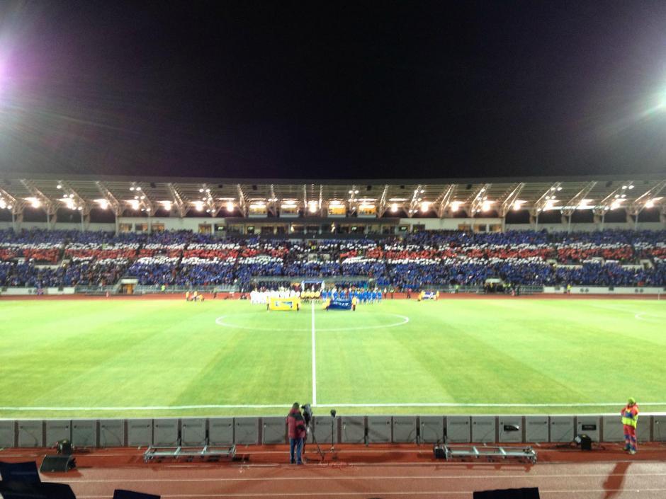 """La """"Premier League"""" de Islandia tiene 12 equipos. (Foto: Infobae)"""