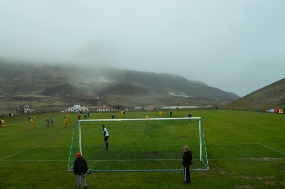 Las bajas temperaturas afectan durante casi todo el año en Islandia. (Foto: Infobae)