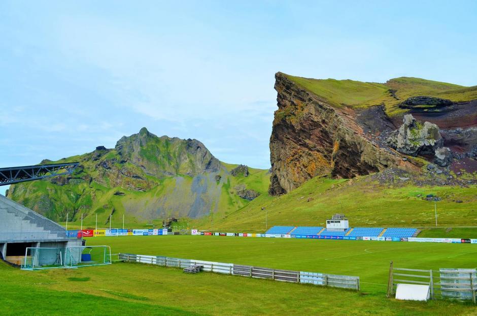Por el clima, los juegos en islandia se hacen entre mayo y octubre. (Foto: Infobae)