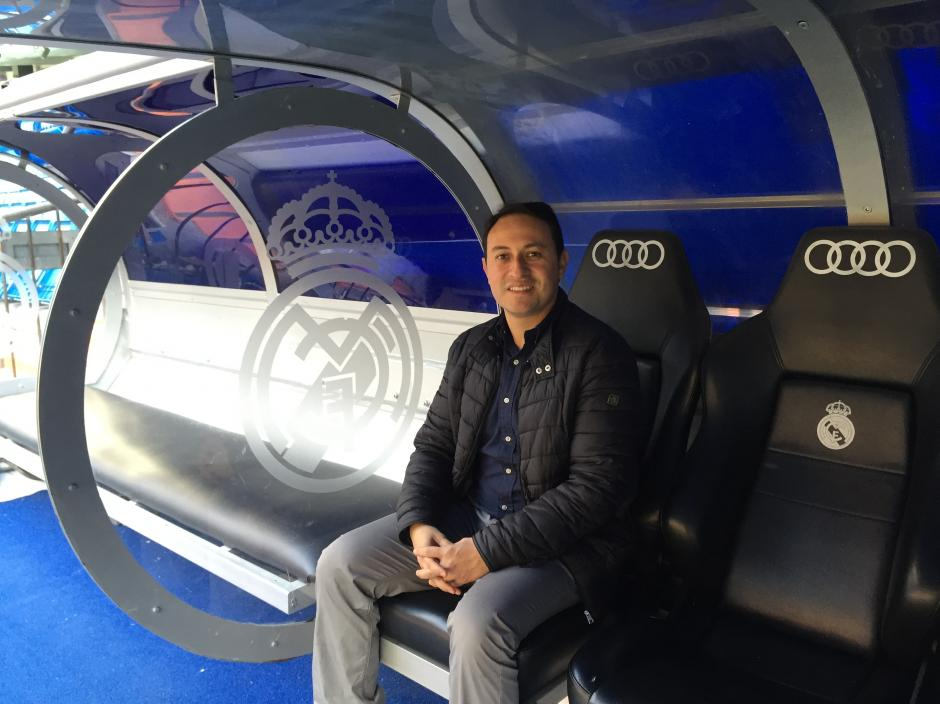 Juan Francisco Roldán fue aceptado en el Master de Dirección de Fútbol de la Escuela del Real Madrid. (Foto: Juan Francisco Roldán)