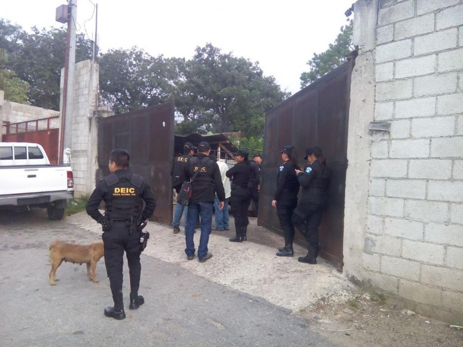 El MP y la PNC ejecutan diez órdenes de captura. (Foto: PNC)