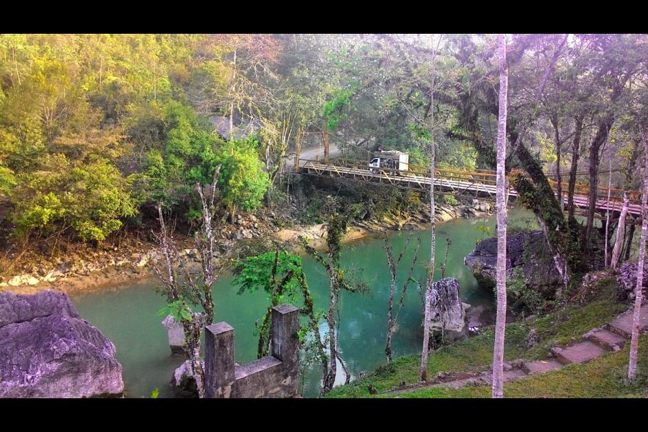 Semuc Champey fue declarado Monumento natural en 2005. (Foto: Twitter, @cece_enviaje)