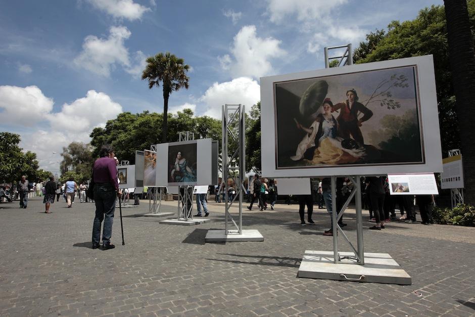 Las piezas más significativas del Museo del Prado, ubicado en Madrid España, se presentan en Guatemala. (Foto: Esteban Biba/EFE)