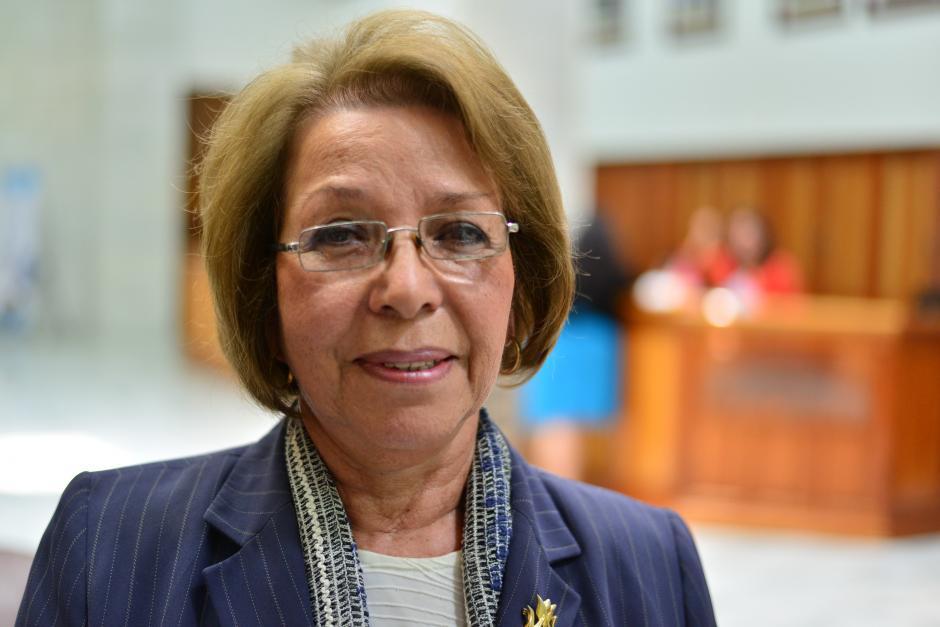La abogada Estela Bailey Beltetón también es parte del proceso de elección que lleva a cabo el Congreso. (Foto Wilder López/Soy502)