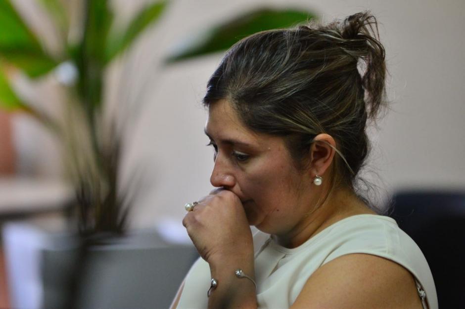 La madre de la exnovia del hijo del presidente fue ligada a proceso. (Foto: Jesús Alfonso/Soy502)