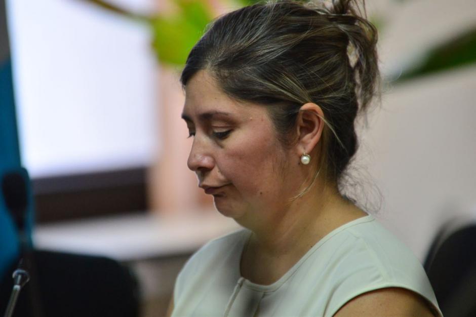 Abdy Estrada fue ligada por el delito de caso especial de defraudación tributaria. (Foto: Jesús Alfonso/Soy502)