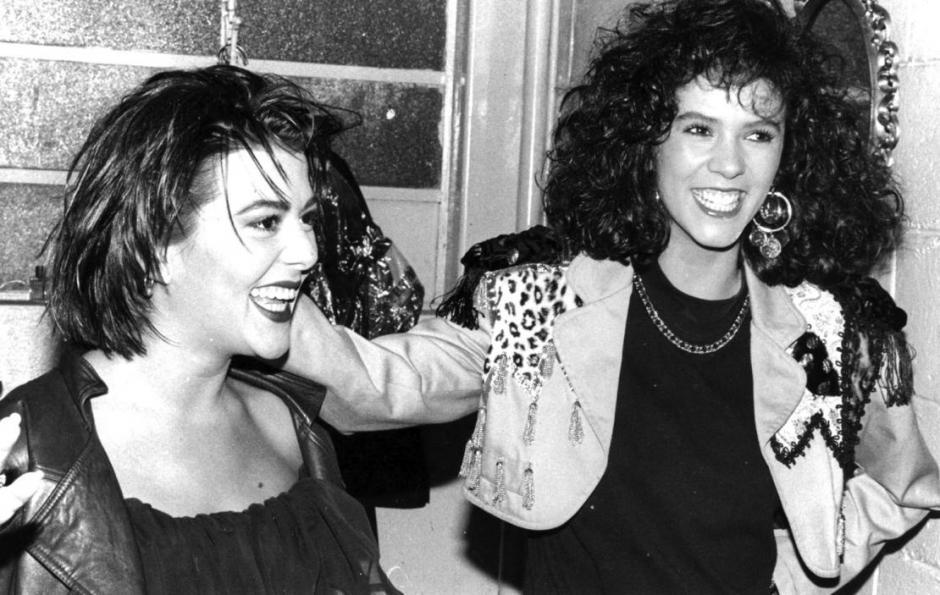 Alejandra Guzmán y Edith Márquez eran más rockeras. (Foto: Univisión9