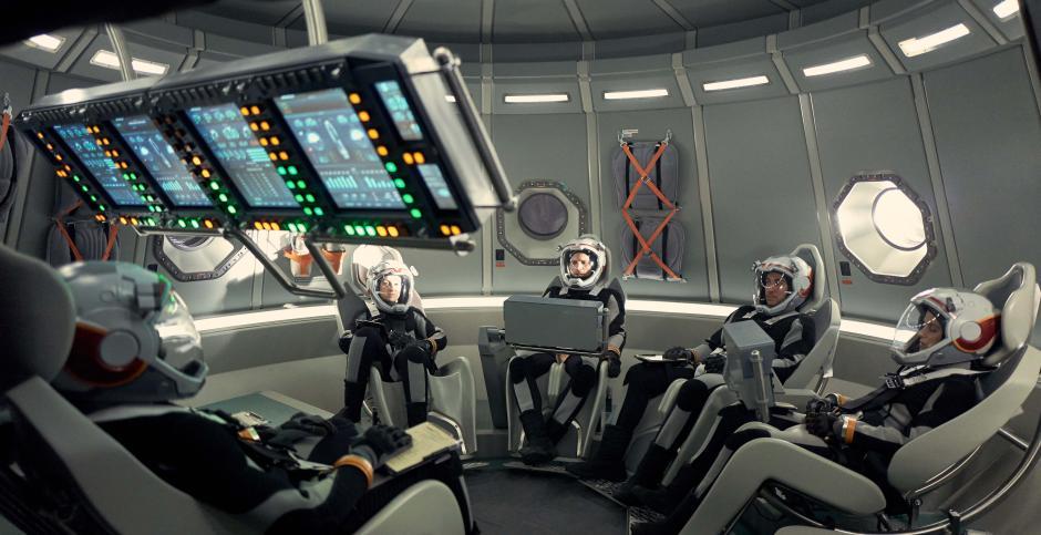 Una tripulación de seis personas es la encargada de pisar Marte por primera vez. (Foto: Fox)