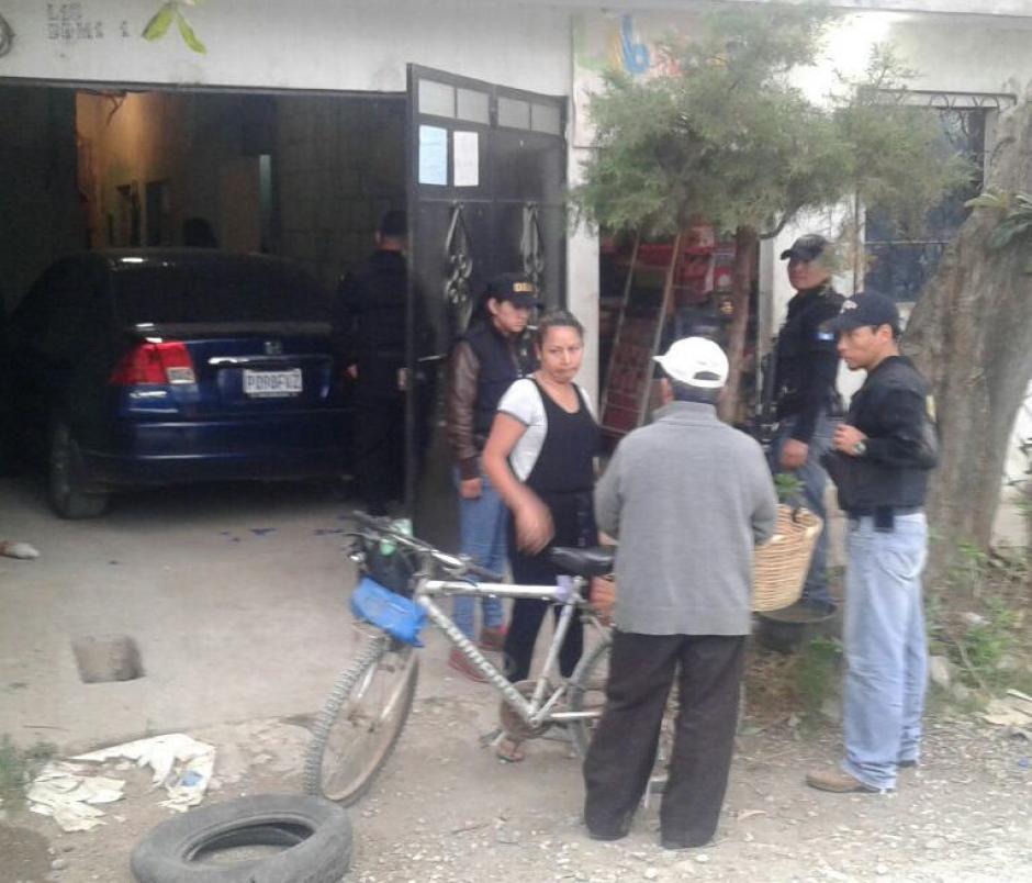 Las capturas de los secuestradores ocurrieron en Ciudad Quetzal. (Foto: PNC)