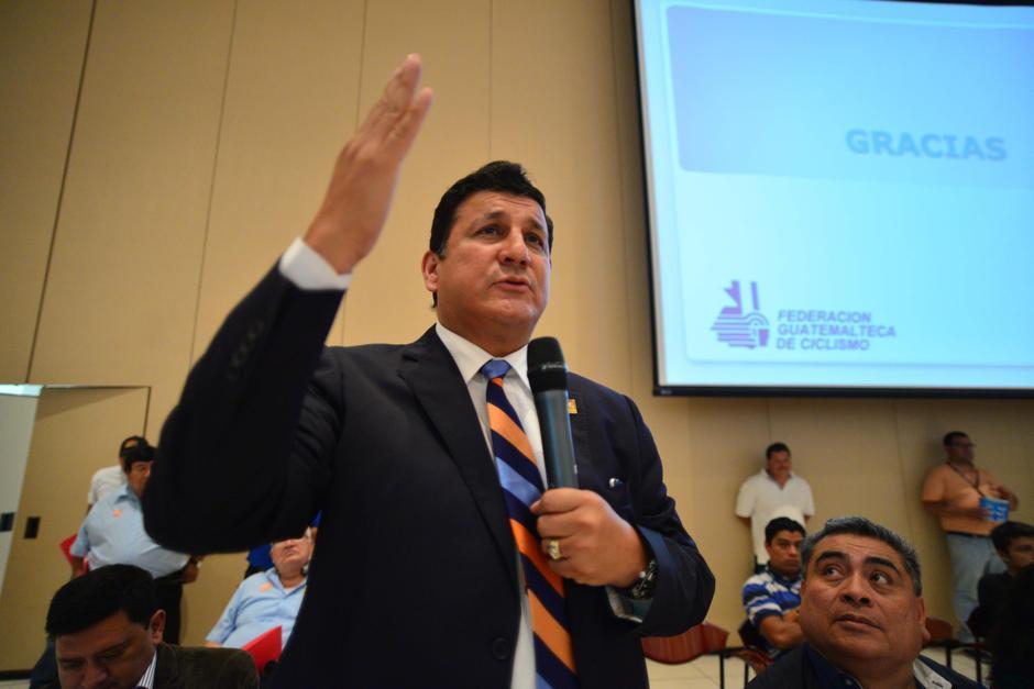 Estuardo Galdámez llegó a FCN tras ganar una curul con el Partido Patriota. (Foto: Archivo/Soy502)