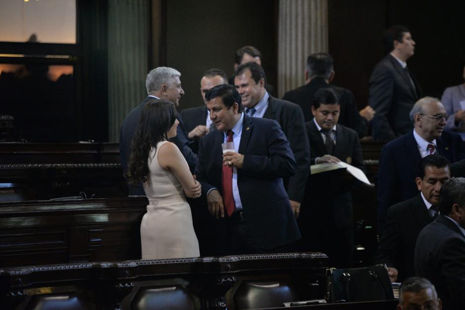 Galdámez y Sandoval encabezan a los tránsfugas que quieren retirar a Javier Hernández de la jefatura de bancada. (Foto: Archivo/Soy502)