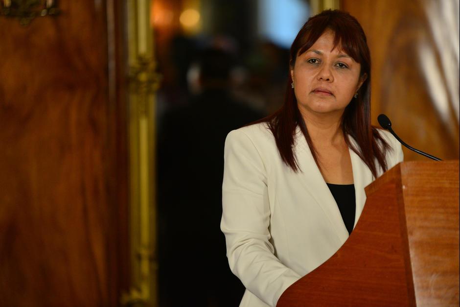 Mendizábal llegó al Ministerio de Gobernación como Viceministra Antinarcótica. (Foto: Archivo/Soy502)