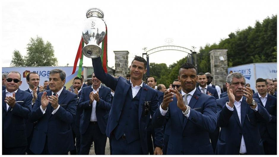 Con la primera Copa de Europa ganada por Portugal  llegan los seleccionados lusos. (Foto: AFP)