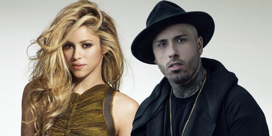 Nicky Jam se une a la lista de colaboración de Shakira. (Foto: Europa FM)