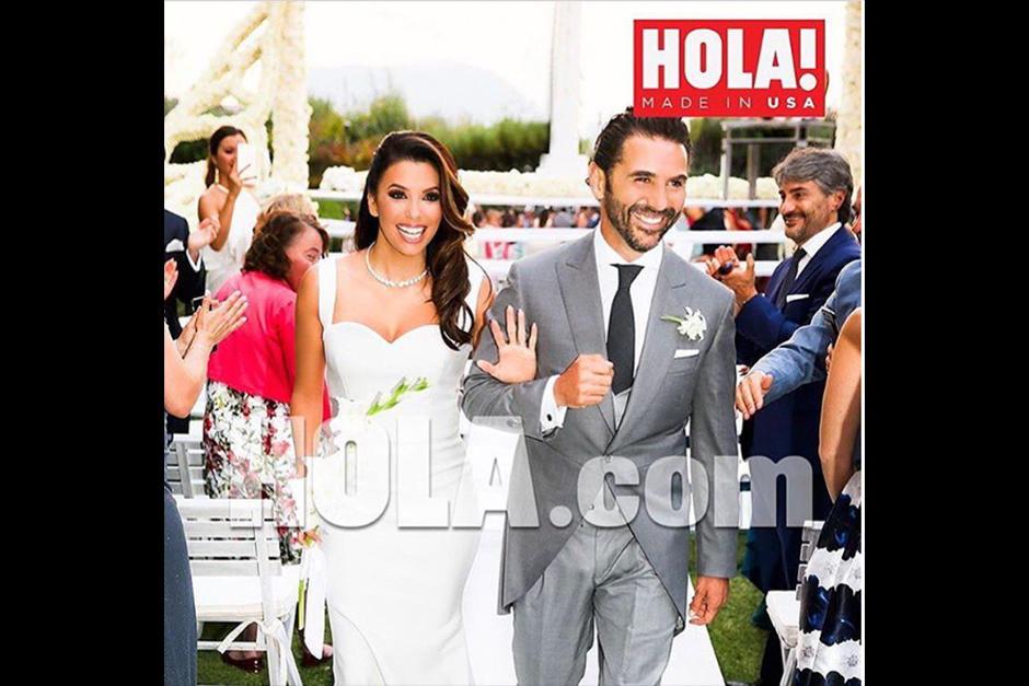 Eva Longoria y el ejecutivo mexicano Pepe Bastón se casaron el pasado sábado. (Foto: Instagram)