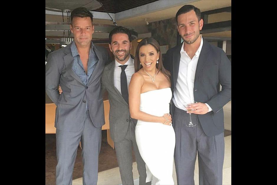 Ricky Martin y su pareja fueron los más fotografiados y comentados. (Foto: Instagram)