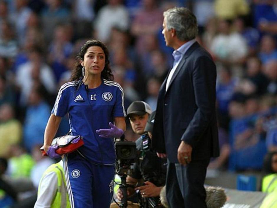 La atractiva médico no podrá estar más en los juegos y entrenamientos del Chelsea
