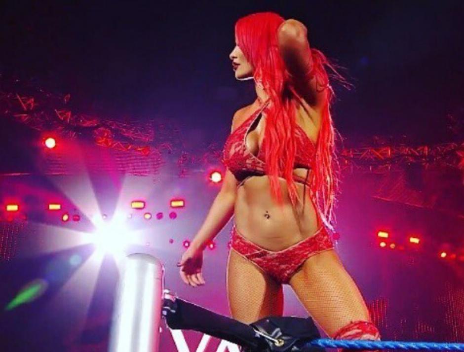 Eva Marie, es una de las estrellas de WWE. (Captura de pantalla: WWE/YouTube)