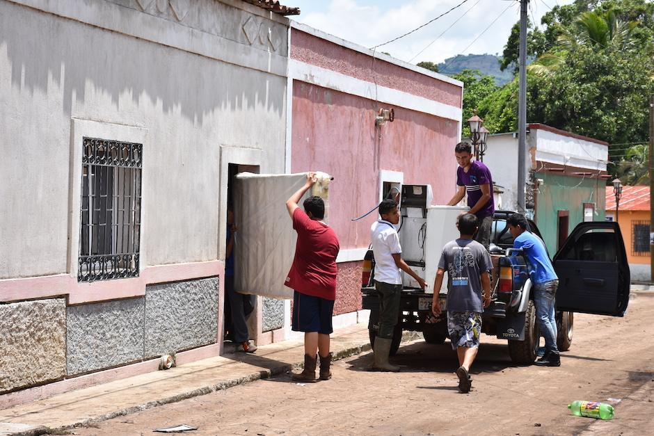 Las fuertes lluvias que han azotado la región provocaron inundaciones. (Foto: Emeldina Rizzo/Nuestro Diario)
