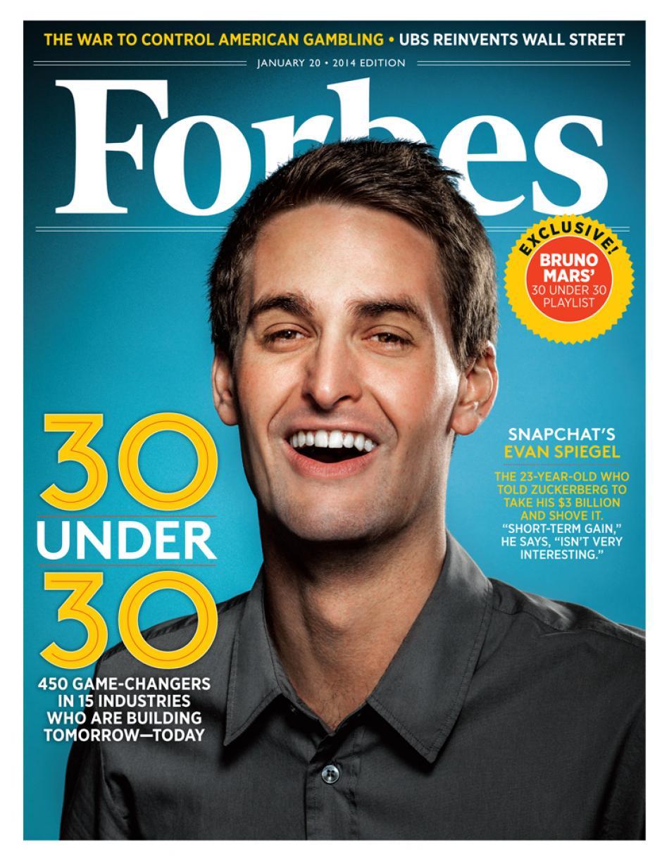 Incluso ha sido portada de Forbes. (Foto: Forbes)