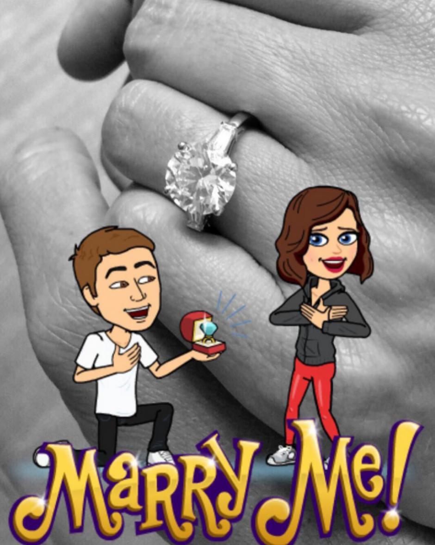 Miranda dio el sí a su nuevo amor, el fundador de Snaptchat. (Foto: Miranda Kerr)
