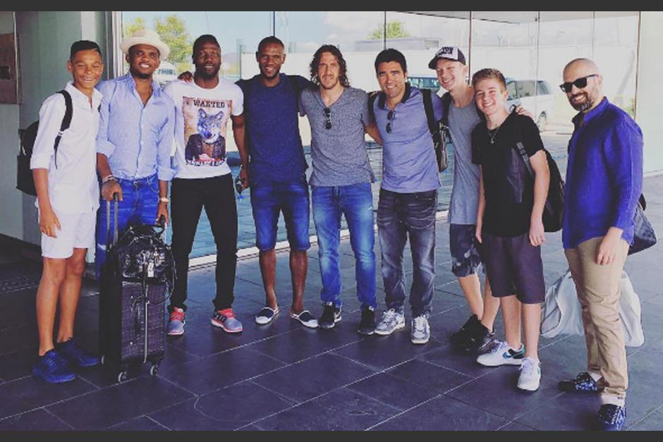 exjugadores del FC Barcelona en Turquía foto