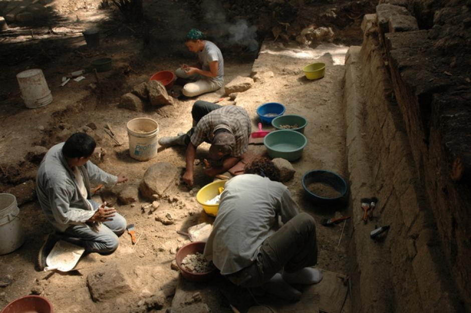 El estudio se realizó en el sitio arqueológico El Ceibal, en Petén. (Foto: Takeshi Imonata)