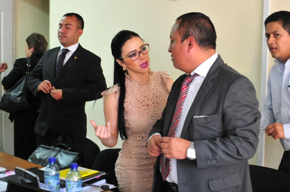 La exdiputada Maldonado asegura que no tiene responsabilidad por el mal manejo de fondos en Conjuve durante su administración en 2009. (Foto: Alejandro Balán/Soy502)