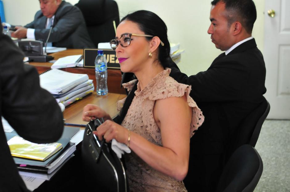 La exdiputada Julia Maldonado se presentó a la segunda audiencia del juicio en su contra por supuesta malversación de fondos cuando fungió como jefa de la Conjuve. (Foto: Alejandro Balán/Soy502)