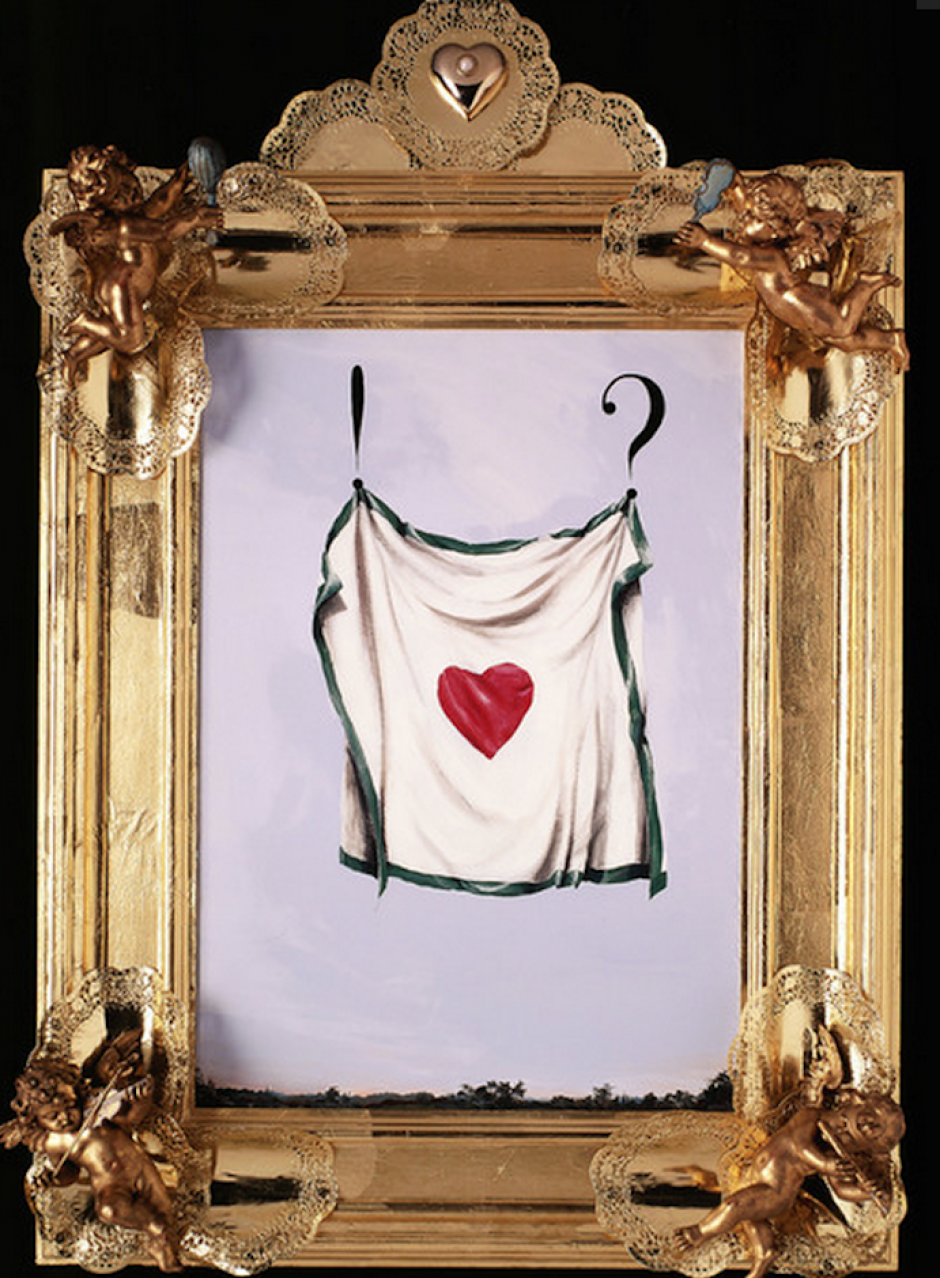 """Moschino utilizaba íconos """"naif"""" (inocentes) para expresar su sentir acerca de temas como la moral. (Foto: NowFashion)"""