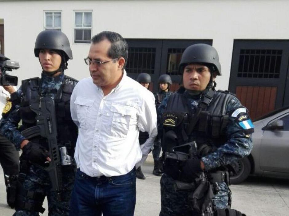 El más reciente de los exministros capturados es Elmer López, de Agricultura, Ganadería y Alimentación.  (Foto: PNC)