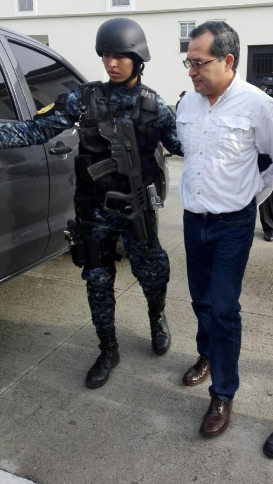 López estaría involucrado en un caso de contrabando de granos básicos. (Foto: PNC)