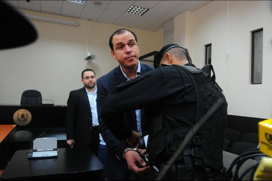 El exministro de Cultura y Deportes, Dwight Pezzarossi también se encuentra en prisión. (Foto: Archivo/Soy502)