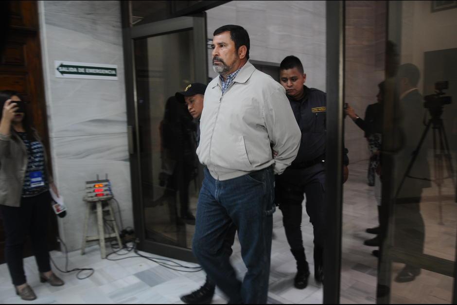 El exministro de Defensa, Ulises Anzueto guarda prisión por el caso Cooptación del Estado. (Foto: Archivo/Soy502)