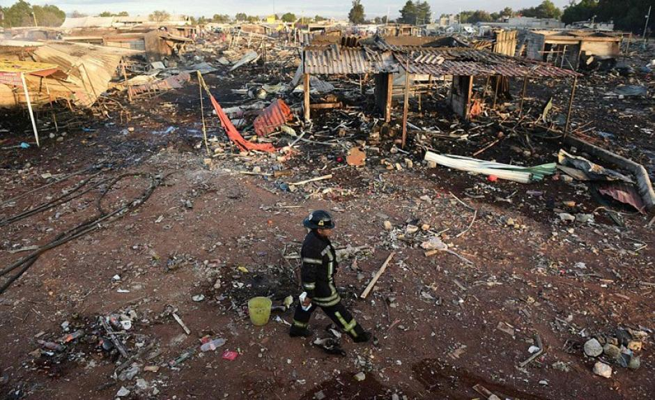 Hasta el momento se desconocen las causas del incidente. (Foto: Sopitas)